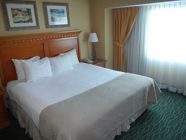 Embassy Suites Monterey California Bedroom