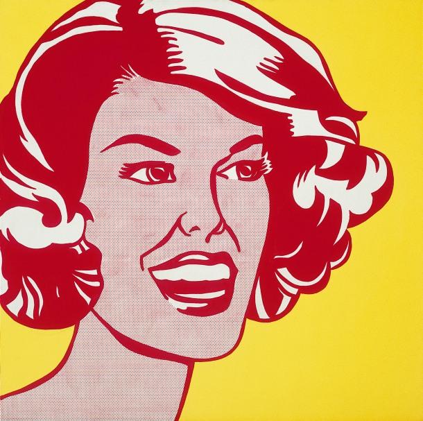 By Roy Lichtenstein