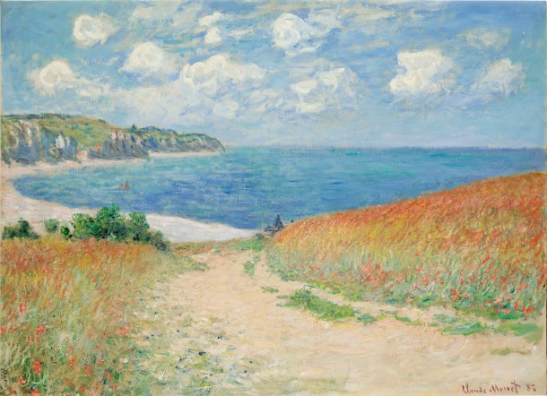 Path in the Wheatfields at Pourville