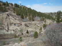 Back around to the dam from the Rim Trail