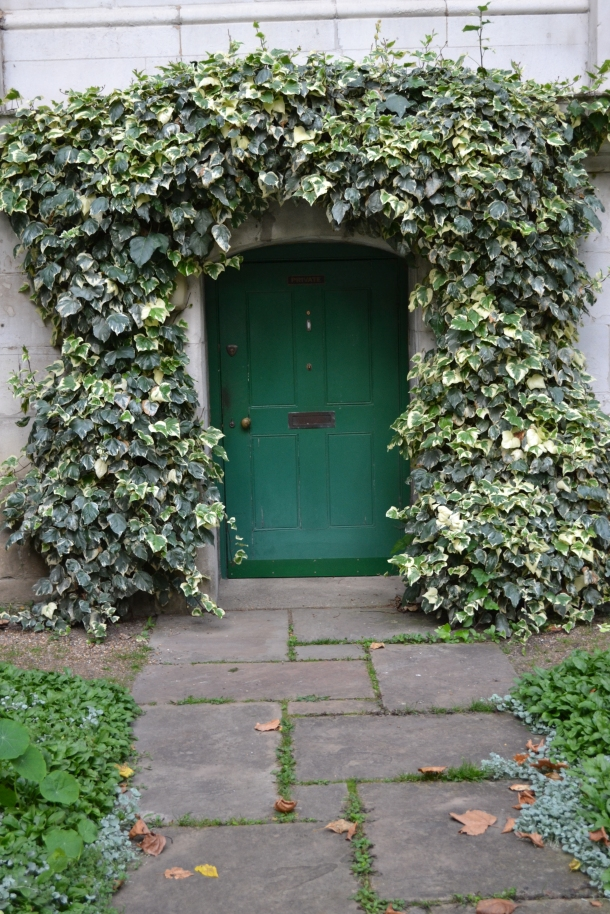 A curious door in the heart of Westminster