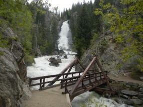 Fish Creek Falls near Steamboat Springs
