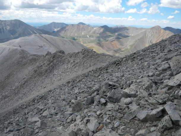 14,275-foot-tall Mt. Antero - August 17th