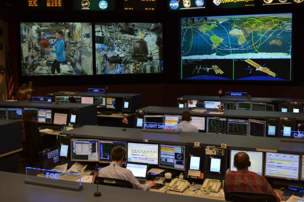NASA's current mission control