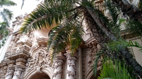 The architecture in Balboa Park is outstanding
