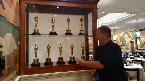 A behind-the-scenes tour of FOX Studios in LA during SCBWI