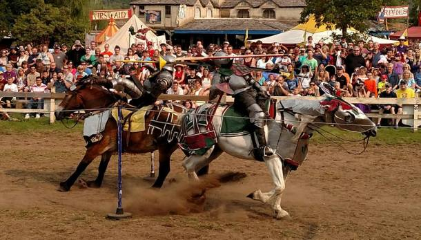 Jousting at the Minnesota Renaissance Festival