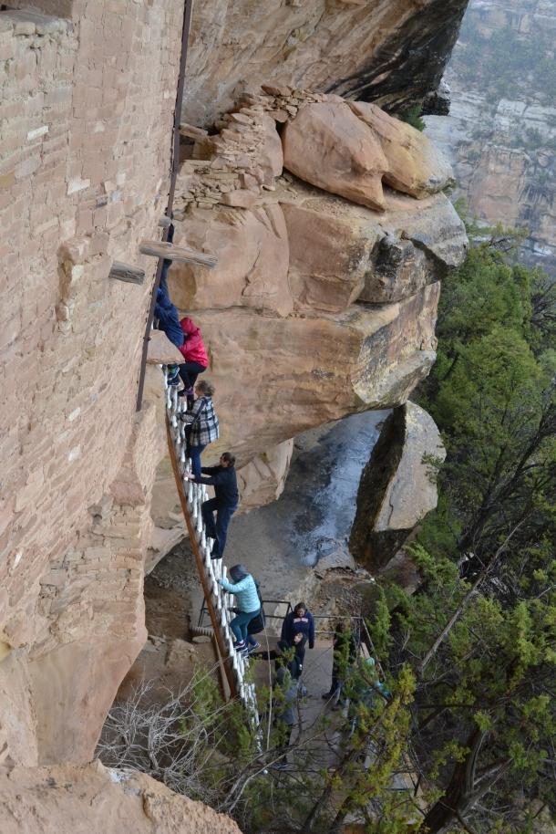 Mesa Verde Balcony House Ladder