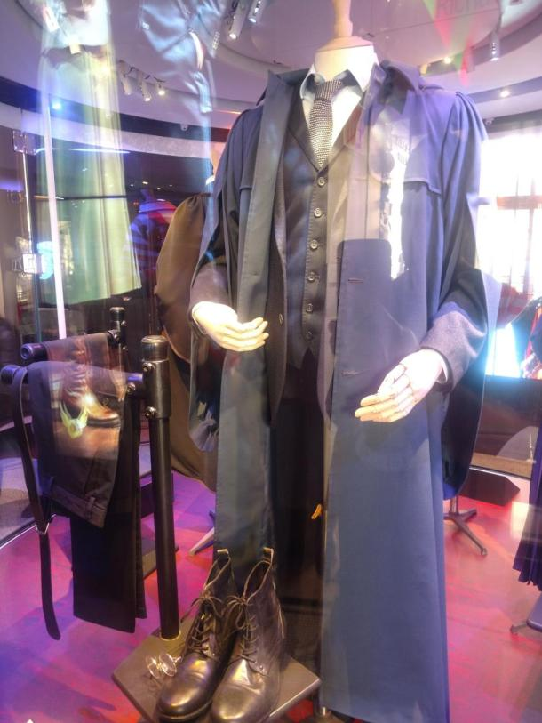 harry potter and the cursed child costume at new york history museum