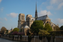 Notre Dame from the banks of the Seine